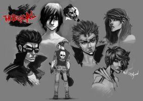 The Bocal Faces by Pyroow