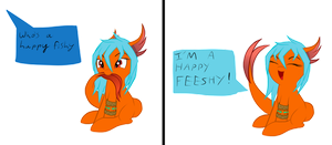 Who is happy fish by Mystic-L1ght