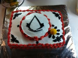 Assassin's Creed Custom cake by kast43