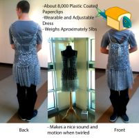 Paperclip Dress by Xentris