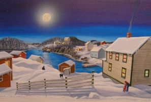 newfoundland moon follow by kenpower