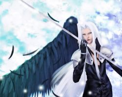 Sephiroth-lost by Abyss-Valkyrie