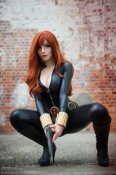 Black Widow by katyuskamoonfox