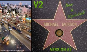 Hollywood Walk of Fame PSD V2 by SucXceS