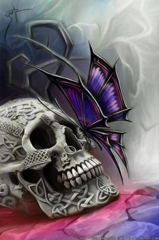 Butterfly of Death by LimonTea