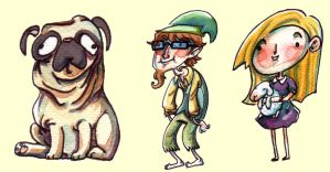 Funny characters by mazosia