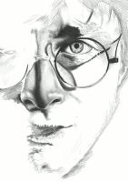 Harry Potter- Pencil drawing stages by shonechacko