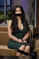 Kim Kardashian Bound n Gagged by SDK619