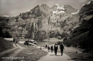 Hiking to Oeschinen Lake by pinguinette