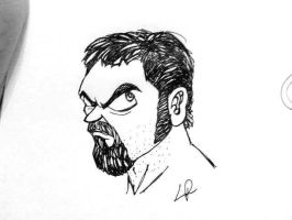 me in dragonball style by cavalars