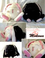 Mokona and Mokona Plushies by IronicChoice