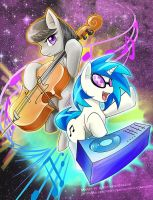 Octavia + DJ-Pon3 = Double BASS by slifertheskydragon