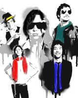 The Strokes by DjhannaS