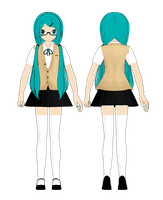 [MMD] School's Out Contest Entry- Hatsune Miku by ginconomp