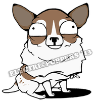 DOODLE POPPER - CHIHUAHUA MORRIS by ELECTRICPOPPERS