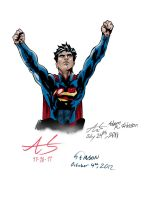 Actual Superman by stinson627