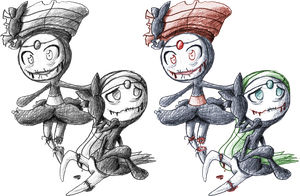 Horrormon: Meloetta by SOAMan