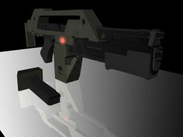 M41a Pulse Rifle by sMadman