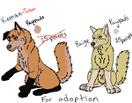 Characters For Adoption by KHC1000