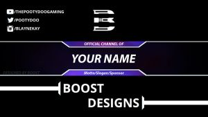 Banner Template #1 by BoostYT