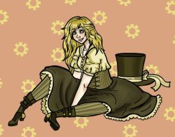 A Little Bit of Steampunk by AskGrendella
