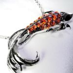 Betta Fish Necklace by Om-Society