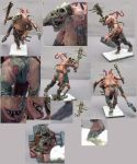 Mutated Chaos Giant Painted by riandro