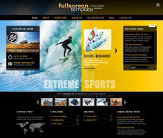 Fullscreen - Wordpress Theme 'Sport Design and qu by ait-themes