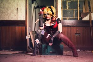 Harley Quinn - Arkham Inspired by Paper-Cube