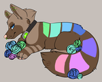 Electric Roses by Lodidah