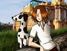 APH - Me and my Dog by Gav-Imp