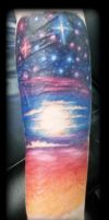 Space by state-of-art-tattoo