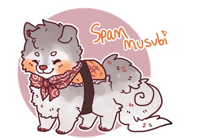 Spam Musubi Sushi dog by Queen-Bea