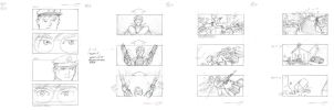 Ed Camel Storyboards Part IC by mavartworx