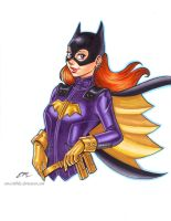 Batgirl of Burnside by em-scribbles