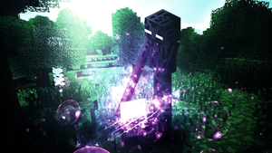 Wallpaper EnderMan (Minecraft) by Gigy1996