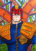 Judge Dredd by seanpatrick76