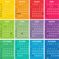 +MagicColour Calendario 2012 png by LuzcaEditions