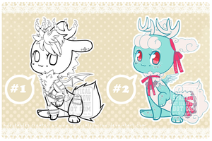 Jackalope Adopts 02 - ends today - CLOSED by NauticalSparrow