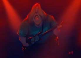 Jeff Hanneman by dominicali