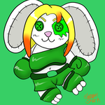 Green Legend Plush by ShrapnelShark