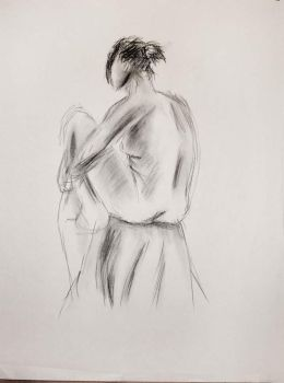 Figure Drawing (2 minutes) by MattRasley