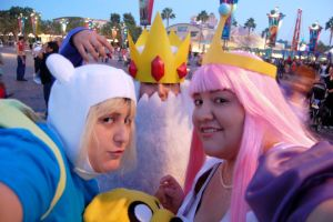 ADVENTURE TIME by Mlarad