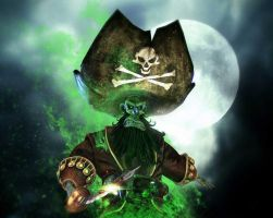 Captain LeChuck by GAMERAS