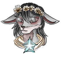 Neopets Gift: Grey Kyrii by Blesses