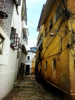 Old town in Mombasa by Siveryyao