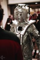 Doctor Who Cyberman cosplay 2 by Ozone-O3