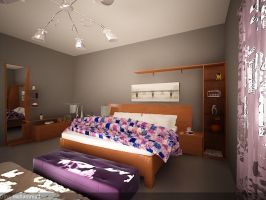 BedRoom by dinamohammad