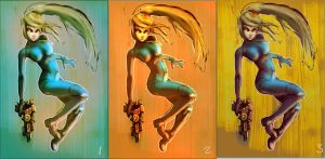 many shades of Samus by hungerartist