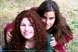 Freya and Ousia by 0-Photocyte